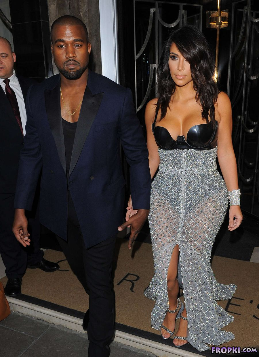 Kim Kardashian - GQ Men of Year Awards 2014