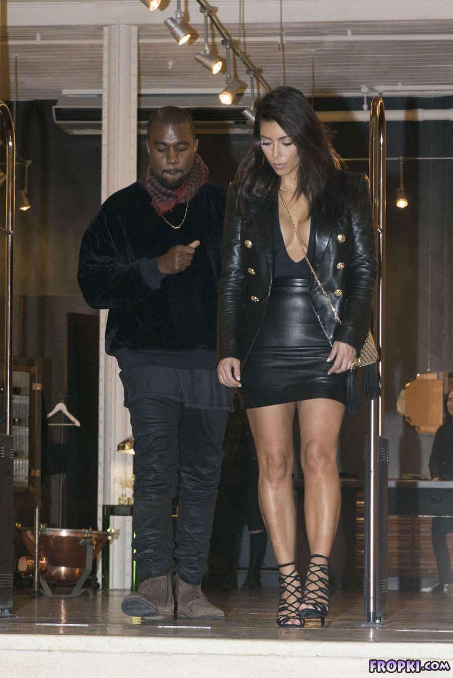 Kim Kardashian - Shopping in Melbourne's CBD