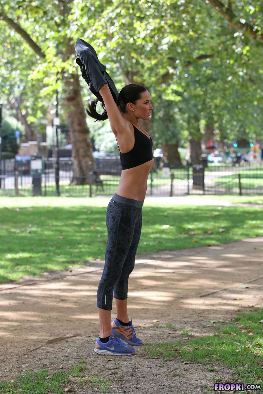 Sophie Anderton - Workout in London