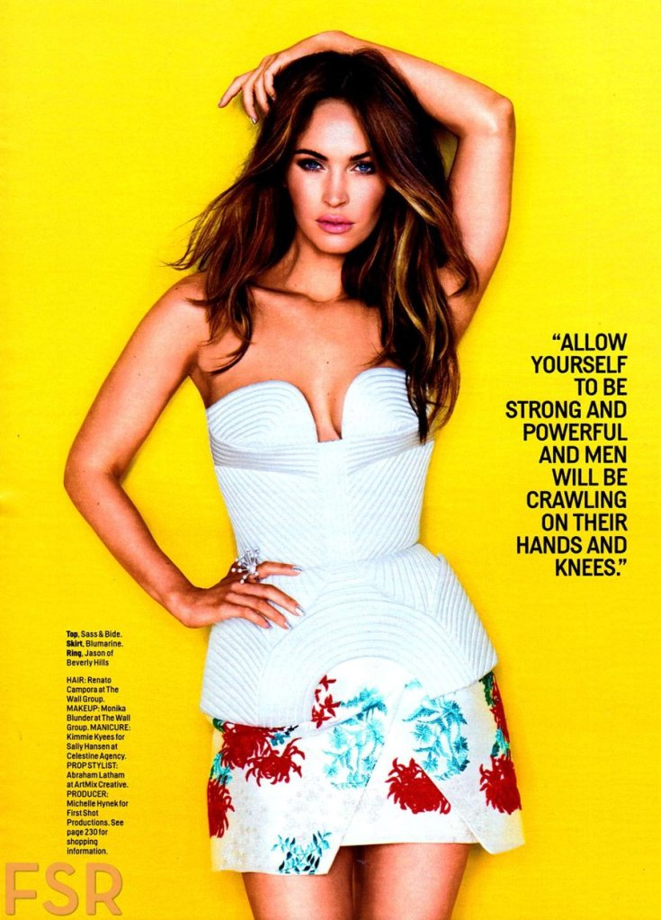 Megan Fox - Cosmopolitan USA (August 2014)