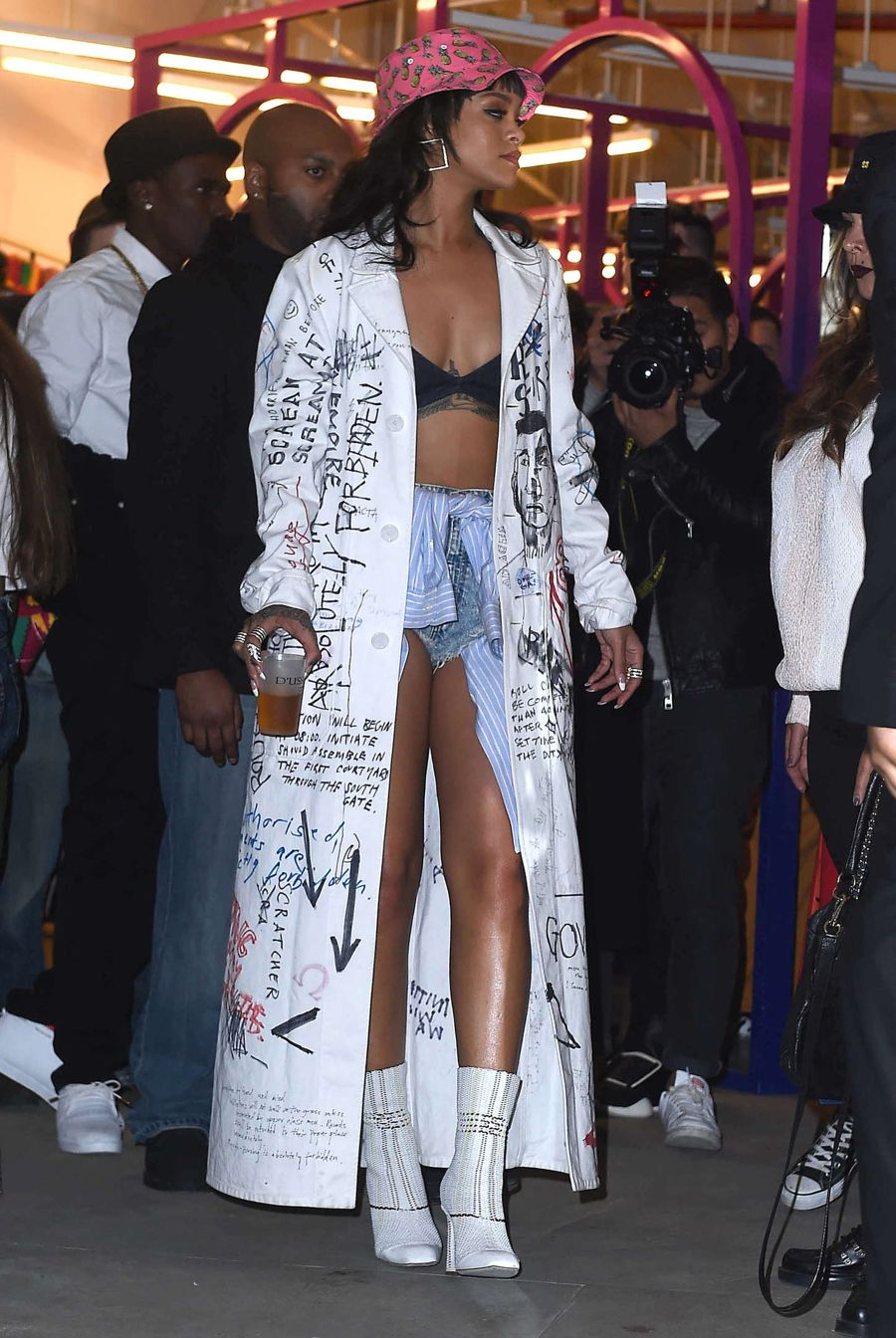 Rihanna - Leaving 'Opening Ceremony' in NYC