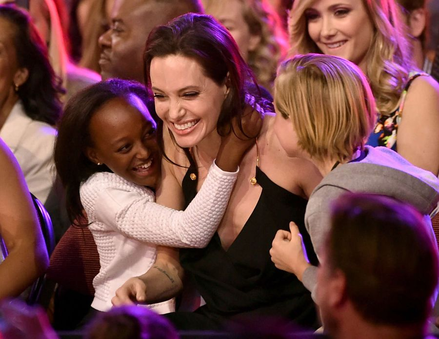 Angelina Jolie - Nickelodeon Kids Choice Awards 2015