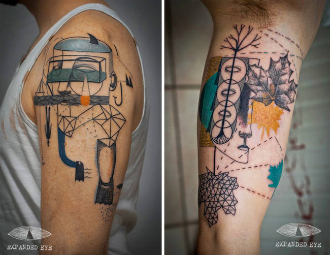 Daring And Artistic Tattoos Are Really Unique