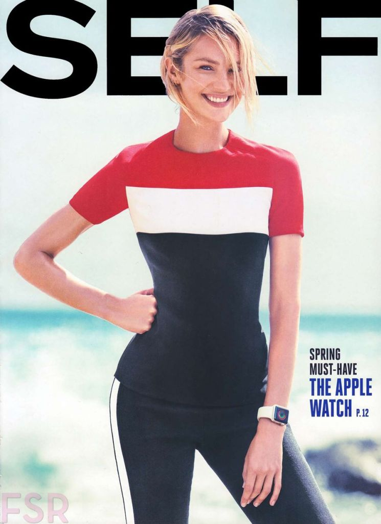 Candice Swanepoel Sexy for Self Magazine March Edition