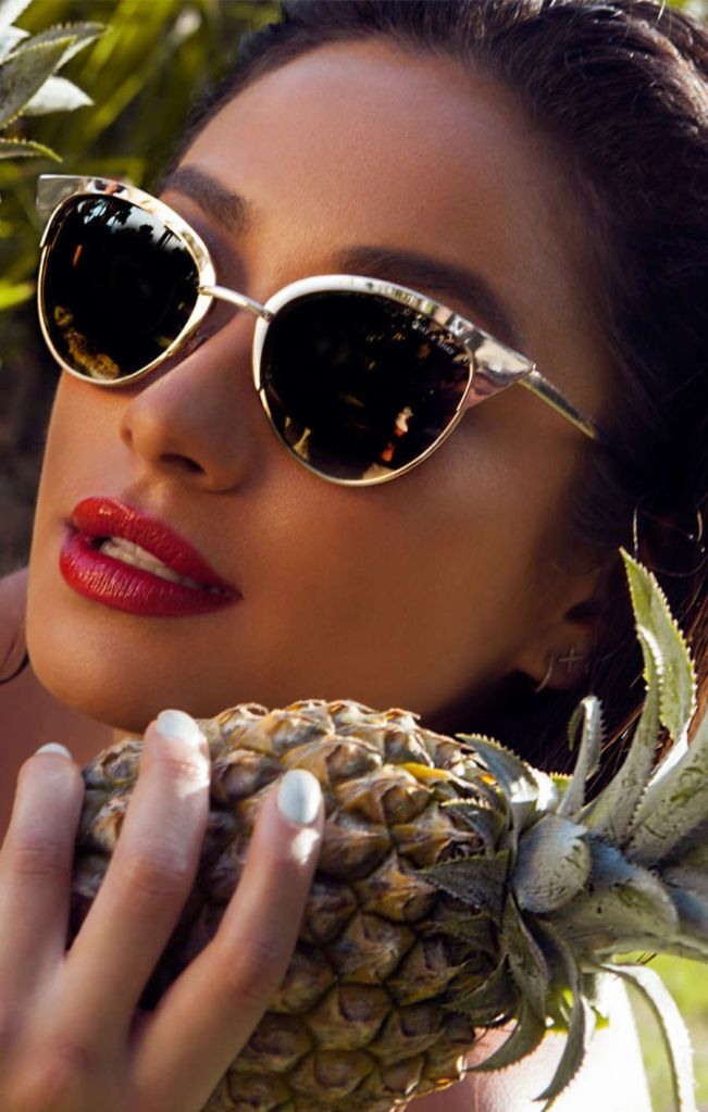 Shay Mitchell Debuts a Cool New Sunglasses