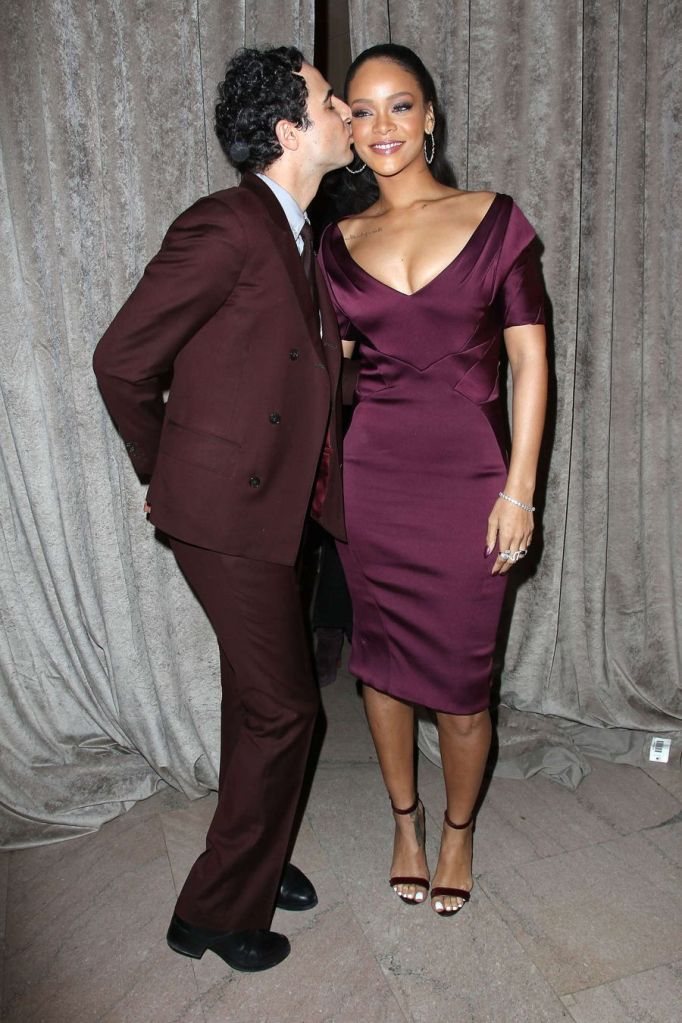 Rihanna Didn't Wax her Legs to Zac Posen Fashion Show