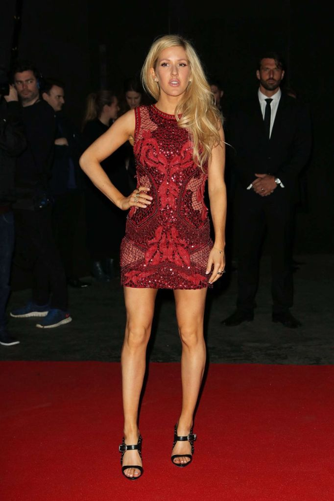 Ellie Goulding - Universal Music Brits Party in London