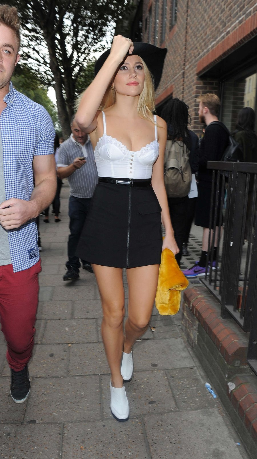 Pixie Lott - Topshop Unique Show'15 London Fashion