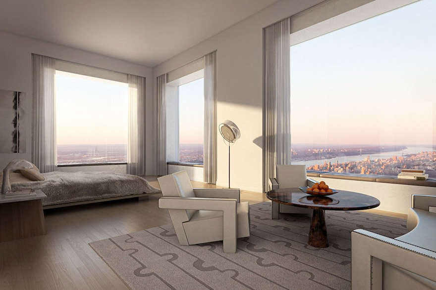 Million Penthouse 1,396 Feet Above New York City
