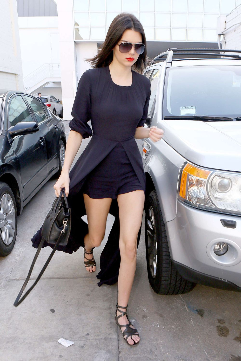 Kendall Jenner Sweeps the Streets in the New Look