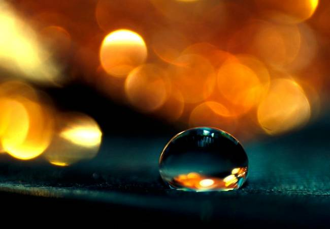 Beauty of Water Comes Alive with Macro Photography