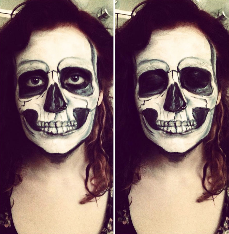 Face Paint To Turn Myself Into Strange Characters