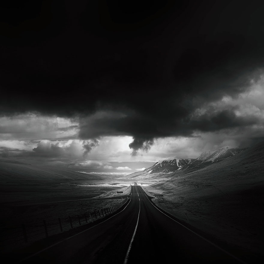 Dark And Lonely Roads Around The World