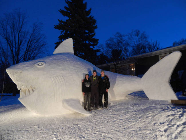 Three Brothers Have Best Winter Tradition