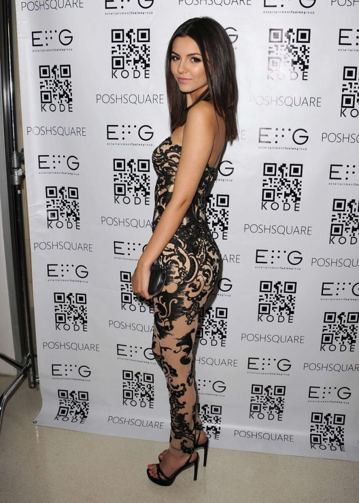 Victoria Justice Sizzles at Kode Mag Release Party