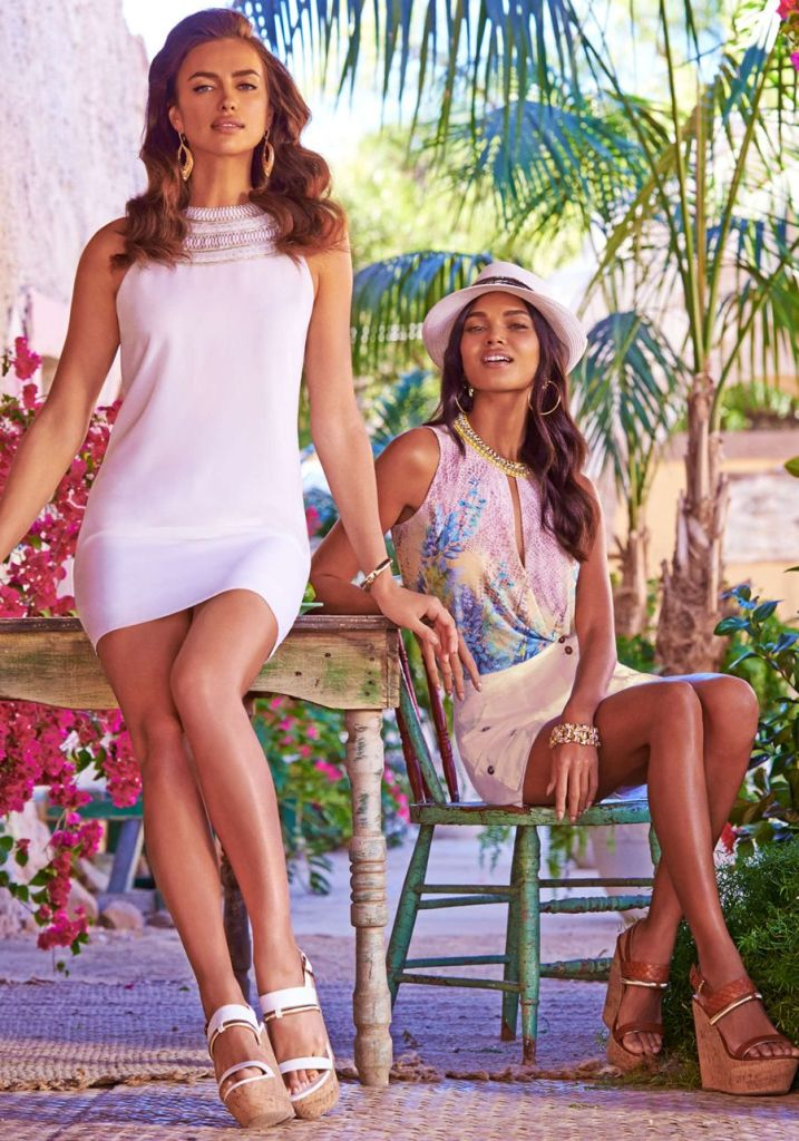 Irina Shayk - Features in Bebe Sping 2015