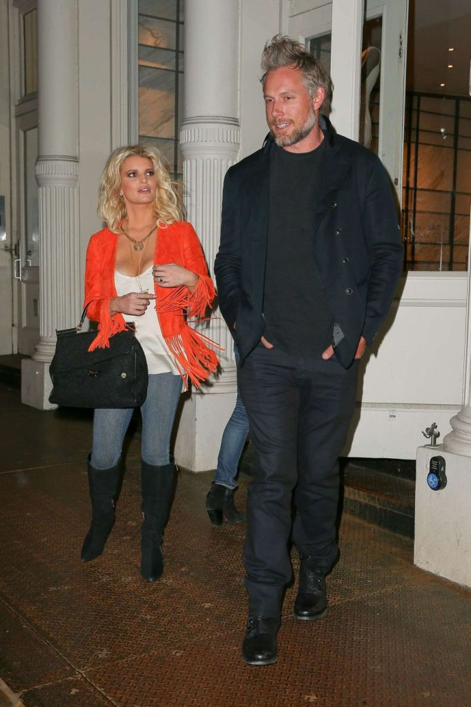 Jessica Simpson Enjoy Shopping Spree in New York
