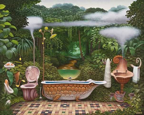 Surreal Paintings Of Dream-Like Worlds