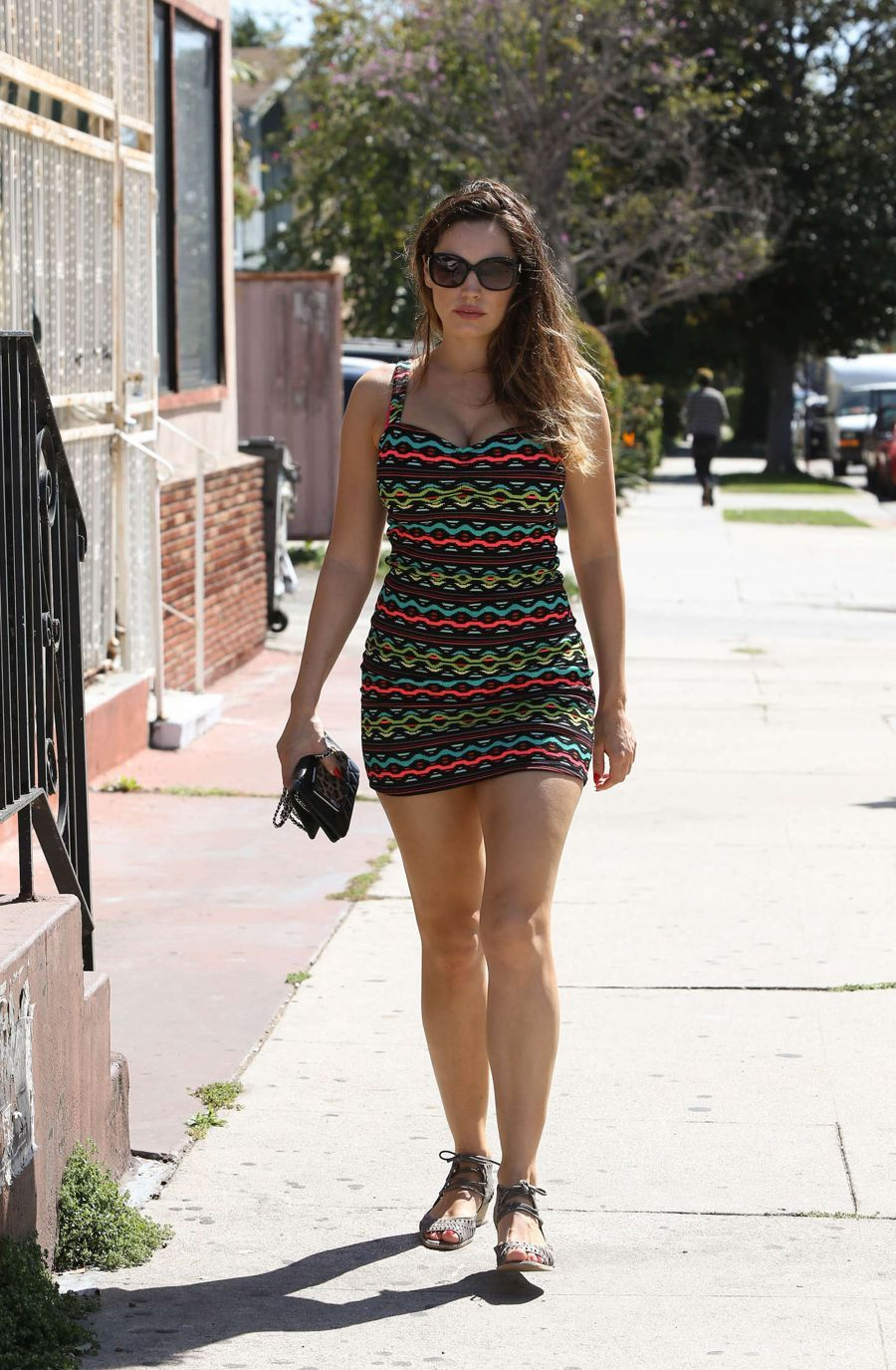 Kelly Brook Highlights Shrinking Figure in Los Angeles
