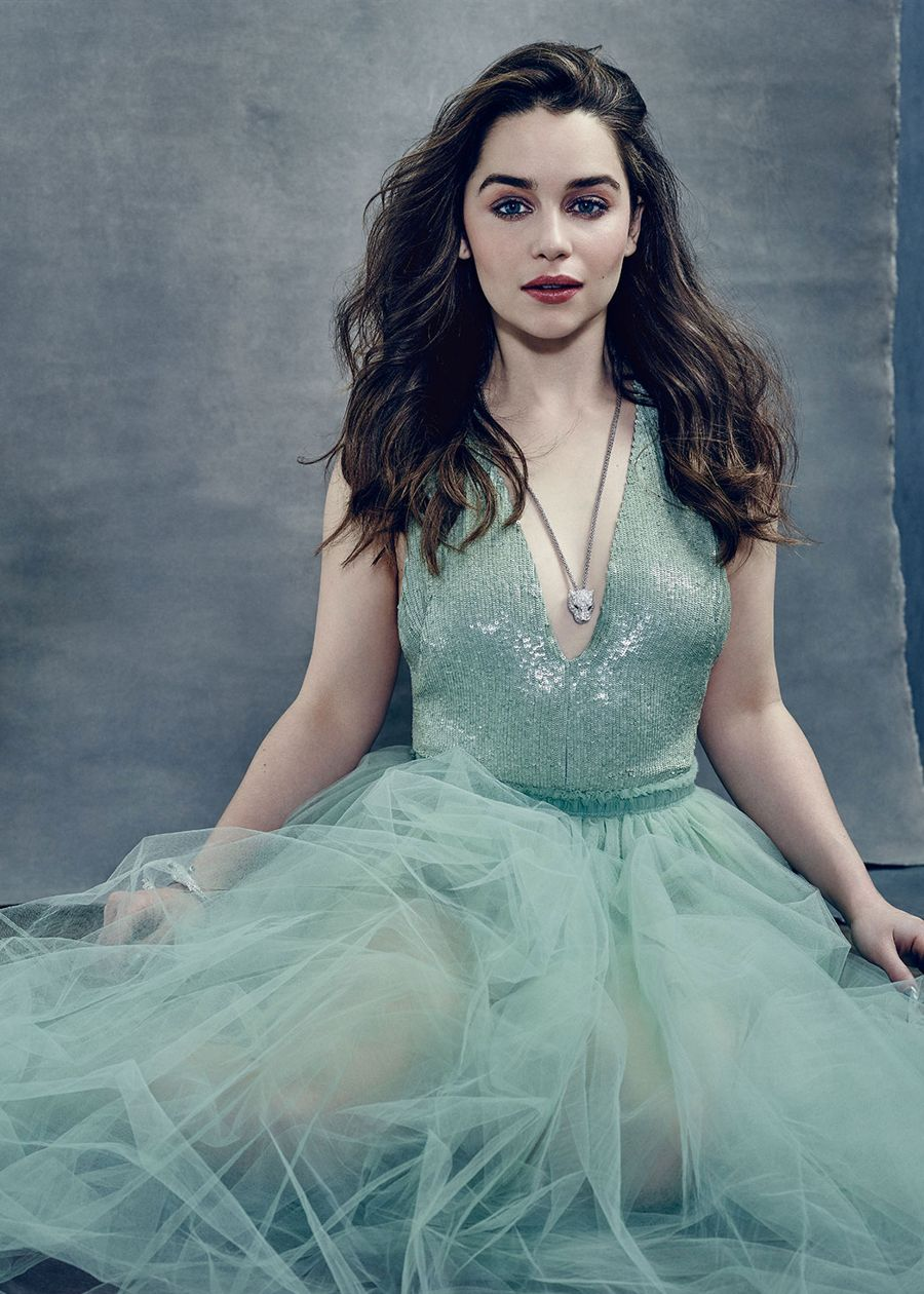 Emilia Clarke - The Hollywood Reporter (April 2015)