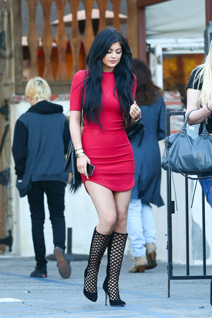 Kylie Jenner - Leaving Sagebrush Cantina in Calabasas