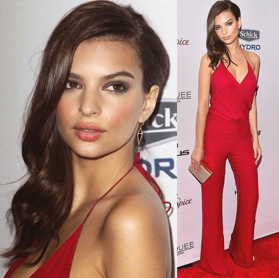 Emily Ratajkowski - Ostrich Look for Chanel Boat Party