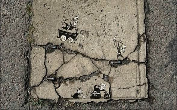Amazing Road Side Art
