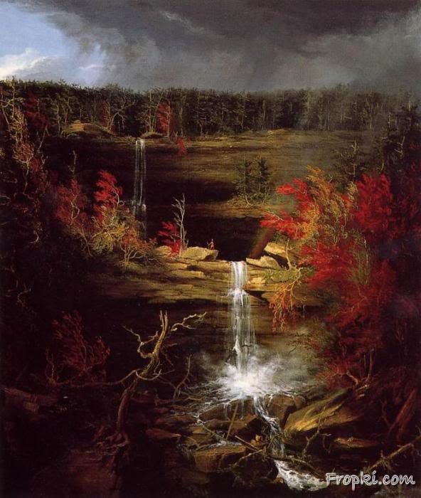 Thomas Cole's Scenic Paintings