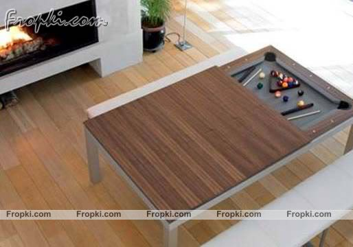 Dining Table Turns in Pool Table