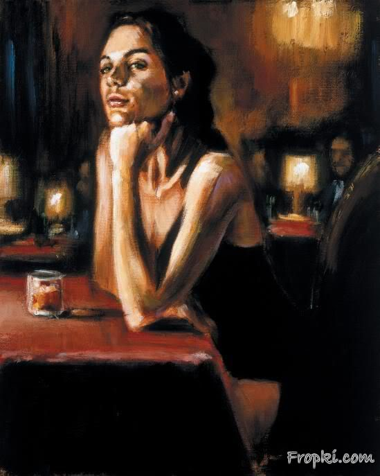 Fabian Perez Paintings