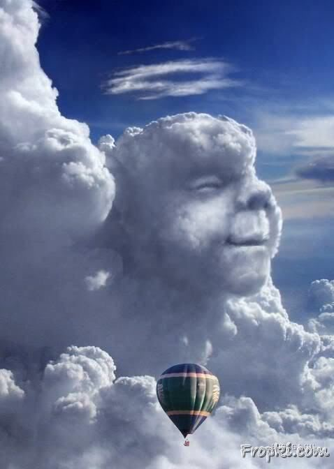 Clouds making People Laugh all over the World