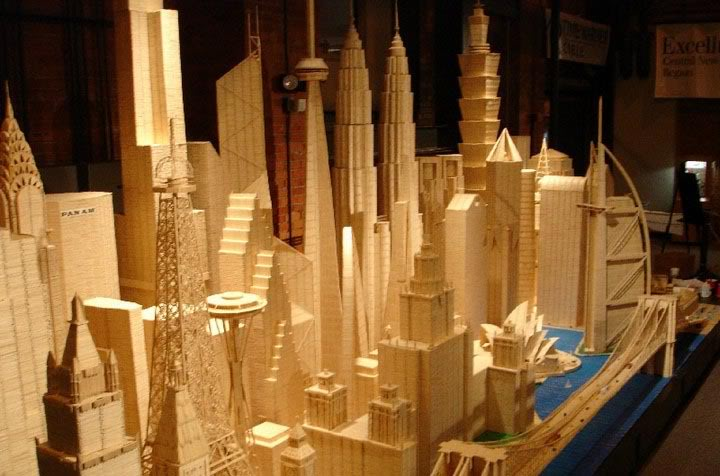 Mega Structures made of Wood